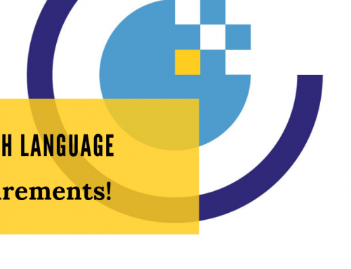 Application Tip: English Language Requirements