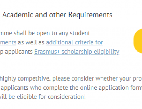 Application Tip: Consider Four Eligibility Criteria